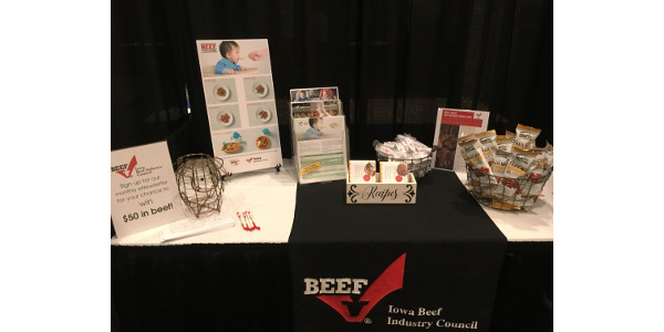 Promoting beef at Family Physician Conference