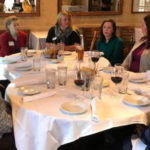 Colorado Corn Executive Coordinator Ann Cross -- who also serves as Colorado's state facilitator for CommonGround -- along with fellow CommonGround volunteers Sondra Pierce, Nikki Weathers and Colleen Peppler recently took part in dinner and discussions with school food program organizers. (Courtesy of Colorado Corn)