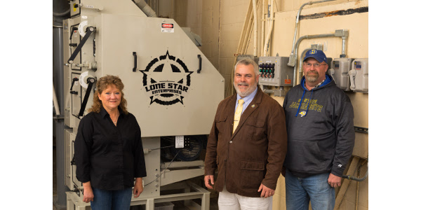 Roller mill donated to SDSU feed processing facility