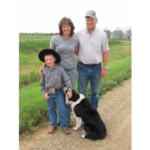 South Dakota Farmers Union has served South Dakota farm and ranch families for more than a century. Throughout the year, we share their stories in order to highlight the families who make up our state's No. 1 industry and help feed the world. This month we highlight the Beer ranch family who raise cattle and a diversified crop operation east of Lemmon. Danni and Mike Beer are pictured here with their youngest, Blaze, 7. The couple have three older children; Bobbi Froelich, 24; Bo, 23; and Bailie, 20. (Courtesy of SDFU)
