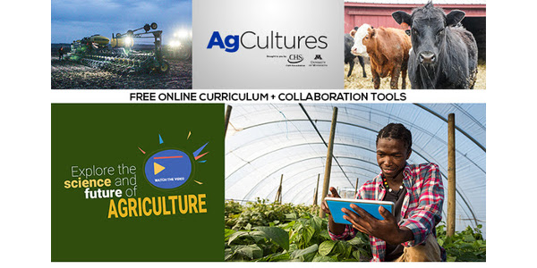 MS and HS teachers: discover AgCultures