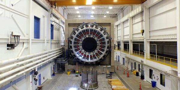 MHI Vestas Offshore Wind's V164-9.5 MW wind turbine will be tested at Clemson University's SCE&G Energy Innovation Center in North Charleston. (Image Credit: Clemson University Relations)