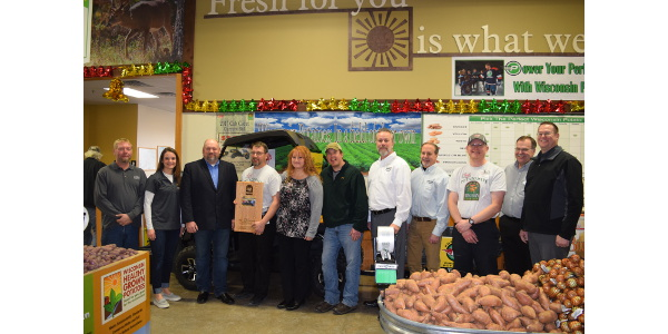 The Trig's in Rhinelander team has mastered the buy local buy Wisconsin concept. (Courtesy of WPVGA)