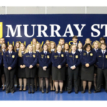 The Hutson School of Agriculture at Murray State University recently honored high school students from the Purchase, Pennyrile and Green River regions as Murray State FFA All-Region Stars based on the students' demonstrated leadership in Future Farmers of America (FFA). (Courtesy of Murray State University)