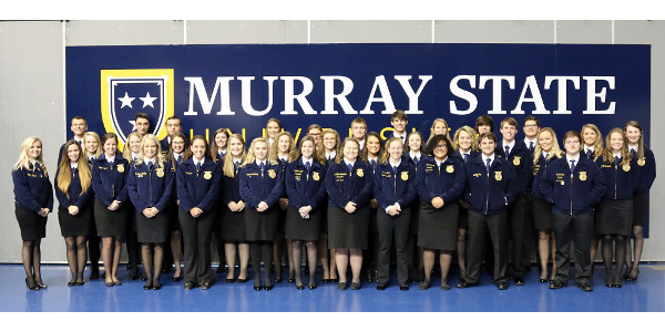 Murray State recognizes FFA students