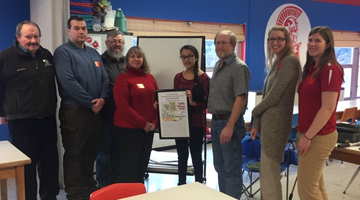 4-H conservation poster contest winner