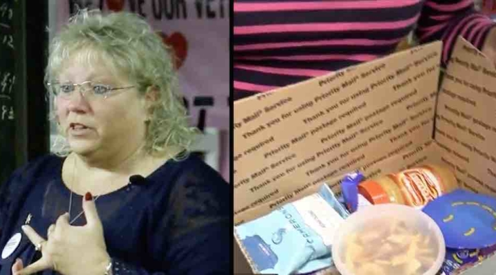 Military mom sends 10,000 care packages
