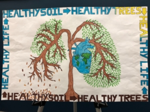 Poster by tenth grade student Kayce Marie Kallnoff of Elgin, Neb.