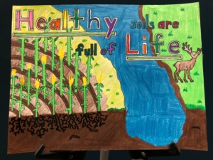 Poster by sixth grade student Ryan J. Karsky of Wayne, Neb.