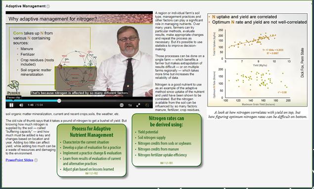 Agronomy e-Learning serves agribusiness