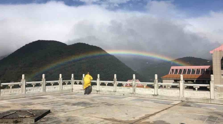 A record-breaking rainbow blessed Taiwan for 9 hours