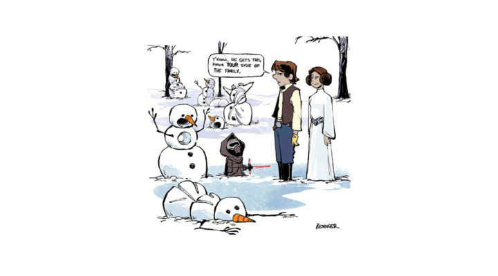 Disney illustrator combines Star Wars and Calvin & Hobbes