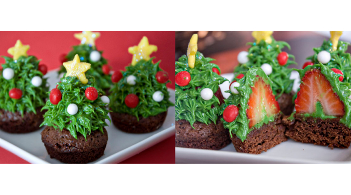 30+ of the most creative Christmas cupcake ideas