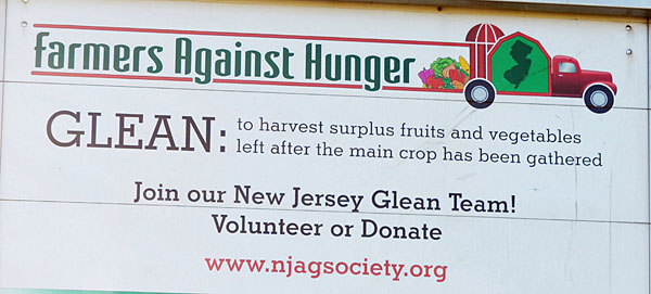 NJDA awards grants to gleaning organizations