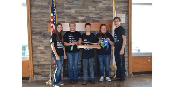 Ward County team takes 1st at Civic U