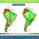Like southern Brazil, drier conditions as of late are also starting to raise concern for farmers in Paraguay and Uruguay.