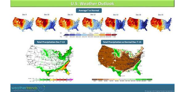 Cold temperatures invade Eastern U.S.