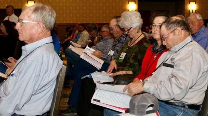 Farmers focus on policy at annual meeting