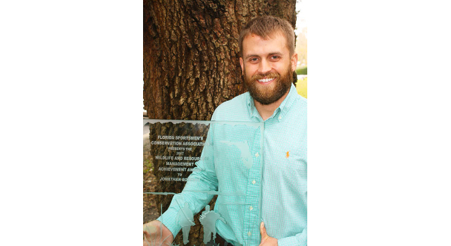 Conservation group honors youth coordinator