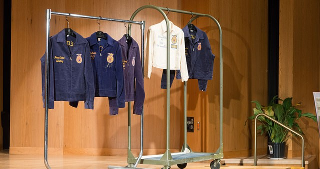 Did you wear an FFA Jacket?