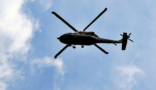 Aussie man hires a chopper in frantic search to find son
