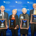 The University of Kentucky College of Agriculture, Food and Environment inducted five new members into its Hall of Distinguished Alumni. (PHOTO: Matt Barton, UK Agricultural Communications Specialist)