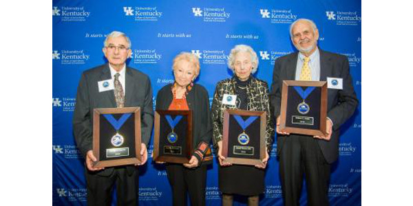 UK CAFE inducts Hall of Distinguished Alumni