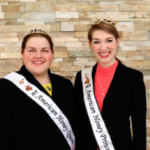 The American Beekeeping Federation is proud to announce that Kayla Fusselman and Jenny Gross were selected as the 2018 American Honey Queen and Princess at its annual January convention in Reno, NV. (Courtesy of American Beekeeping Federation)