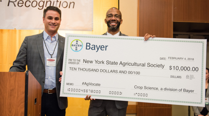 Bayer supports young farmers at NYS Ag Society