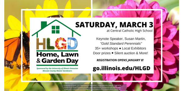 2018 Home, Lawn and Garden Day March 3