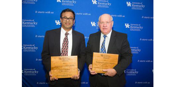 UK CAFE honors farm leader, researcher