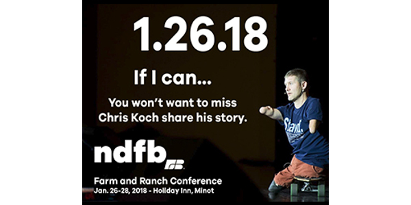 NDFB Farm and Ranch Conference Jan. 26-28