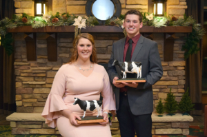 Outstanding Boy and Girl are Joey Opsal and Carley Krull