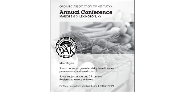 Organic Association of Ky. Annual Conference