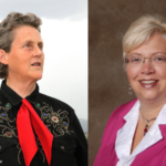 World-renowned animal behavior consultant, and prominent author and speaker, Temple Grandin (left) and Dr. Jacqueline Applegate, head of environmental science for CropScience, a division of Bayer (right) keynote the 2018 Women in Agribusiness Summit, which will be held in Denver, September 24-26. (Courtesy of Women in Agribusiness)