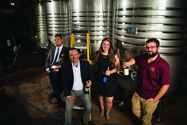 Four Rutgers alums operate four N.J. wineries