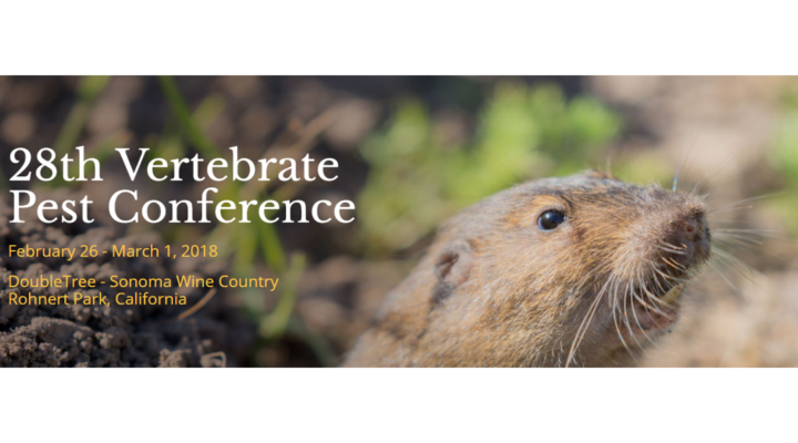 28th Vertebrate Pest Conference, Feb. 26th