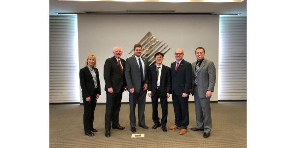 Trade delegation returns from South Korea