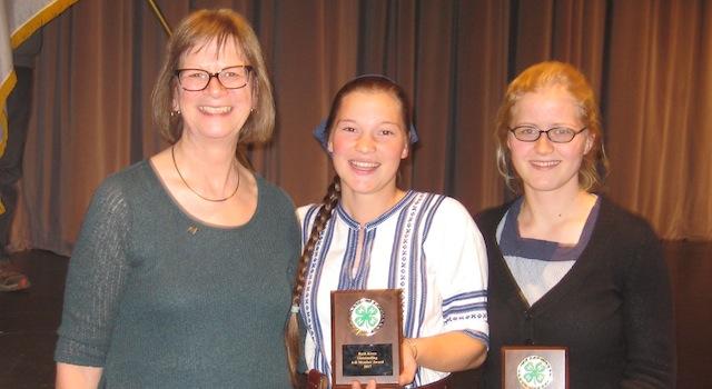 Teens selected as 4-H Outstanding Members