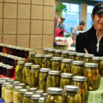 Schyma's Pickles & Preserves at the Maple Grove Winter Farmers Market. (Courtesy of Minnesota Grown)