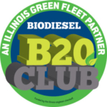 The B20 Club was launched in 2015 to bring cleaner air to Illinois while supporting Illinois agriculture and the state economy. For more information about the B20 Club, visit www.b20club.org.
