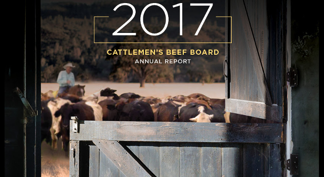 Beef board annual report released
