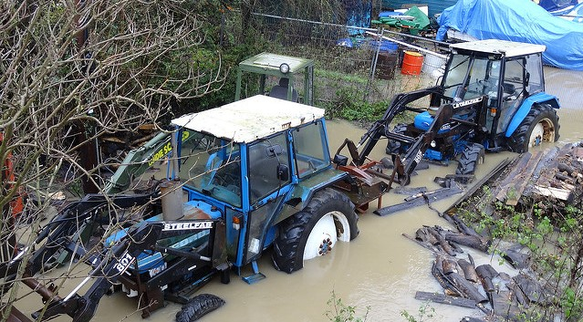 Disaster areas declared due to flooding