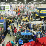 The 2018 edition of the National Farm Machinery Show (NFMS) closed Saturday with an increase in attendance and ticket sales, and a record number of new exhibitors and exhibit sales. (Courtesy of Kentucky Venues)