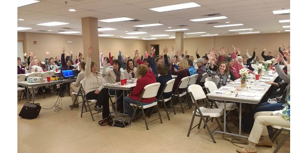 The goal of this year's conference is to show women of all ages the power they can have in their chosen agricultural field in sharing their story in agriculture, even in the simplest of day-to-day activities and conversations. Photo from the 2017 conference. (Courtesy of Iowa State University Extension and Outreach)