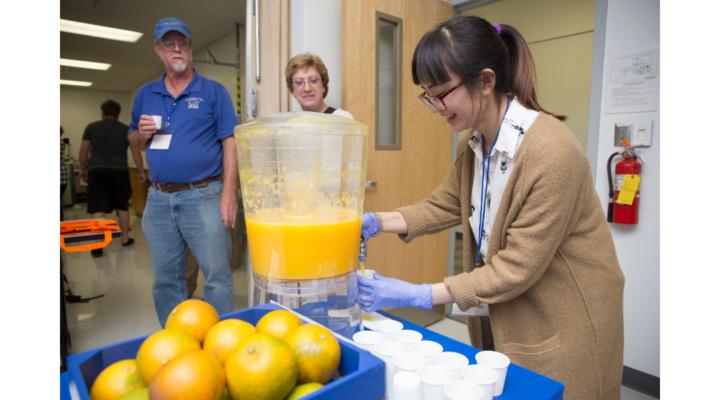 OJ coming from citrus-greening tolerant fruit