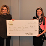 On February 8th, Wisconsin Farm to Table presented a check to he Green County Ag Chest. (Courtesy of Wisconsin Farm to Table)