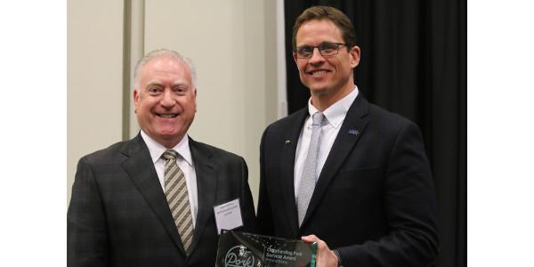 Outstanding Pork Service Award winners