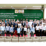 K-State researchers were among the 165 scientists representing 16 countries Jan. 10-13 in Phnom Penh, Cambodia, at the International Sustainable Agricultural Intensification and Nutrition Conference, the first conference of its kind in Southeast Asia. The purpose of the conference was to examine solutions to common challenges faced by millions of smallholder farmers around the globe. (Courtesy of K-State Research and Extension)