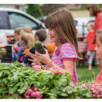 School Garden 101 provides teachers with horticultural skills and shows how to connect gardening principles to school activities and courses. (Screenshot from flyer)